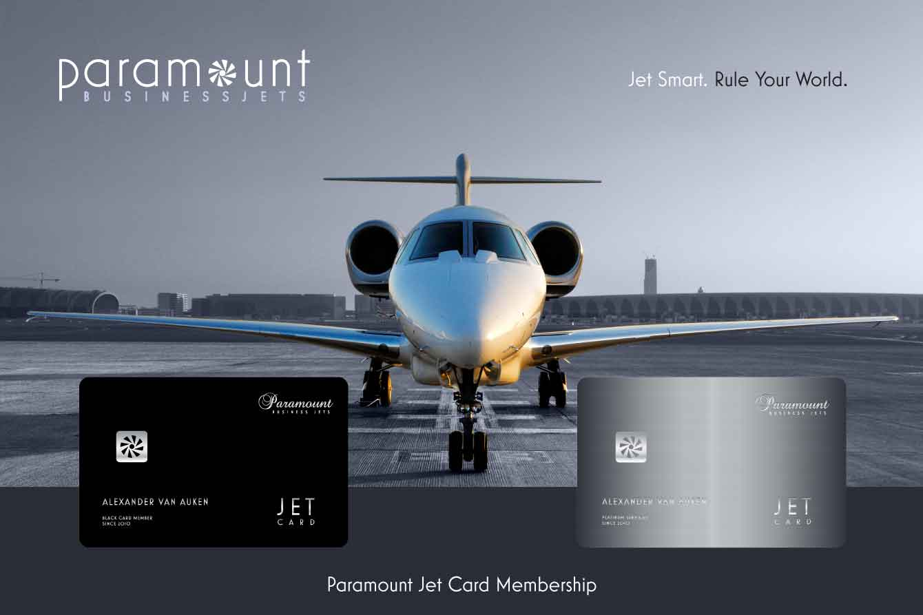 The Smartest Way To Jet  Paramount Business Jets39 Jet Card